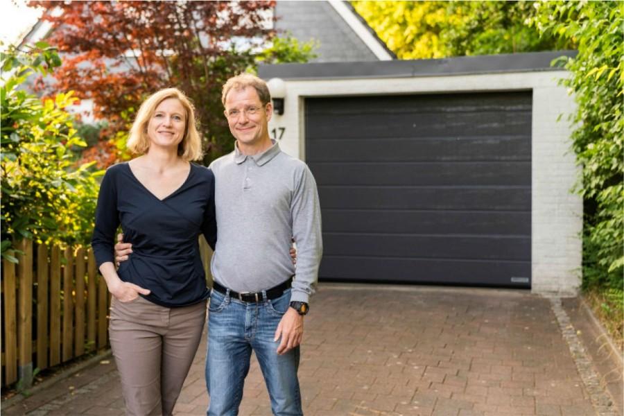 Niekoľkými krokmi k novej garážovej bráne Hörmann